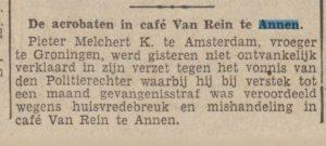 00-00-00 Geweld misdaad ruzie cafe van rein