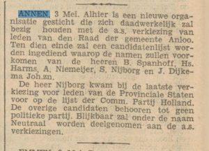 00-05-03 Politiek gemeente veriezingen spanhof b harm  niemeijer a nijborg s dijkema joh .zoon