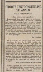 12-6-1931 Volksvermaken Oostermoer in cafe Luth door Engelenburg (a)