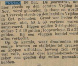 1898-10-28 Volksvermaken jaarmarkt