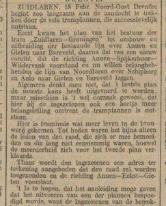 1914-02-18 Gemeente tramplannen
