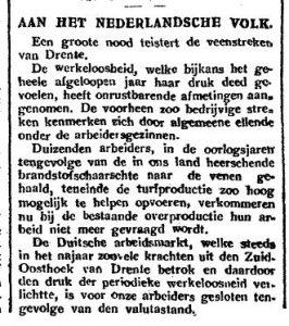1921-12-29 Divers werkloosheid 1van2