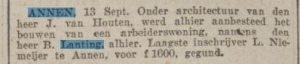 1923-00-00 Divers huis Lanting b woning niemijer l
