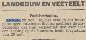 1923-11-01 Jacht korting op pacht