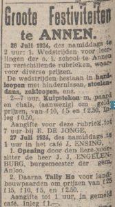 1924-07-09 Volksvermaken Tally-Ho