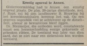 1924-08-26 Ongeval ongeval mej. rabs j bij houwing b