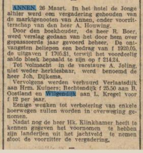 1925-03-26  Vereniging marktgenoten jacht 1925