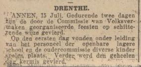 1926-07-15 Volksvermaken ally-Ho J.Venema 1e prijs