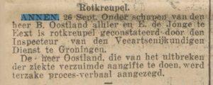 1927-09-26 Dierziekte rotkreupel oostland b