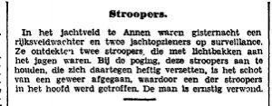 1927-10-03 Geweld misdaad stropers gewond