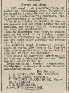 1928-30-01 Vereniging dorpshuis