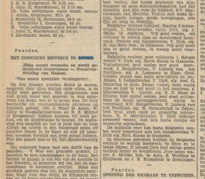 1929-00-00 Volksvermaken  conc.hippique brink