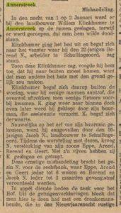 1929-06-13 Geweld misdaad mishandeling W.Klinkhamer 1 van 2