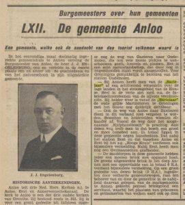 1931-03-07 Politiek Burgermeester Engelenburg 1