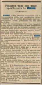 1932-03-27 Vereniging plannen voor sportterrein