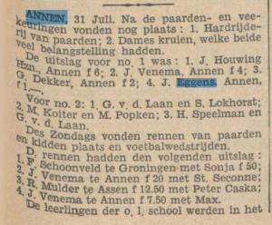 1932-07-31 Volksvermaken paardrennen en keuring
