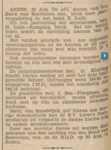 1934-08-04 bond van Boerinnen jaarvergadering