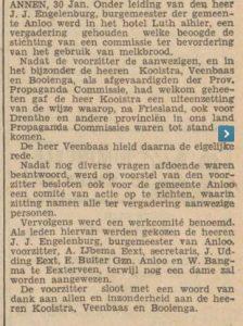 1935-01-31  Divers bevordering van het gebruik van melkbrood