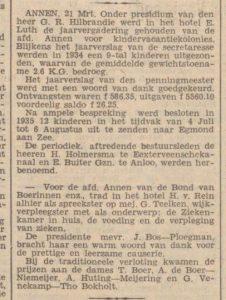 1935-03-23 Divers kindervakantiekolonies zuster Teelken NvhN