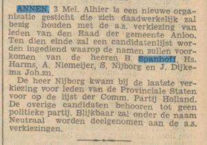 1935-05-03 Politiek gem. verkiezingen S.Nijborg