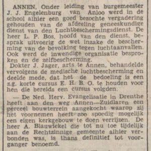 1937-10-05 Divers kerk zuid.lweg en ehbo cursus
