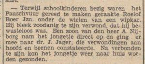 1938-00-00 Ongeval Nijborg a dr jager