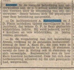 1938-00-00 Vereniging jachtopz ridderbusch