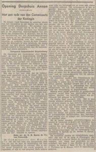 1938-09-26 Vereniging dorpshuis