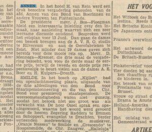 1939-00-00 Vereniging plattelandsvrouwen avro bezoek