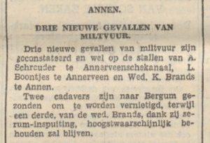 1940-01-20 Divers Mildvuur ontdekt