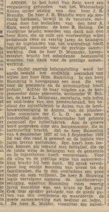 1940-11-04 Vereniging brandts hrm. hamming overleden