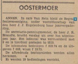 1941-02-15 Vereniging Engelenburg begrafenis ver.  brandts