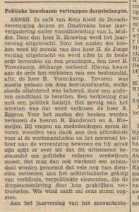 1941-07-01 Vereniging vergadering dorschvereniging politiekbelang