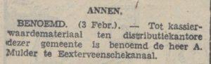 1942-02-04 Divers benoeming kassier a.mulder
