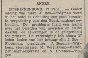 1942-02-10 Vereniging boerinnenbond hommes tingen voorenkamp