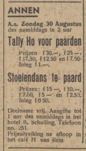 1942-08-25 Volksvermaken Tally-Ho