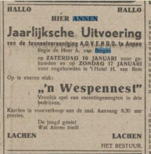 1943-01-16 Vereniging advendo van bergen van rein