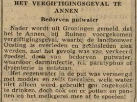 1943-07-14 Divers vergiftiging putwater oosting