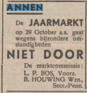 1943-10-29 Markt jaarmarkt houwing b bos l.p.
