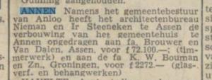 1953-04-30 Gemeente verbouwing gemeentehuis